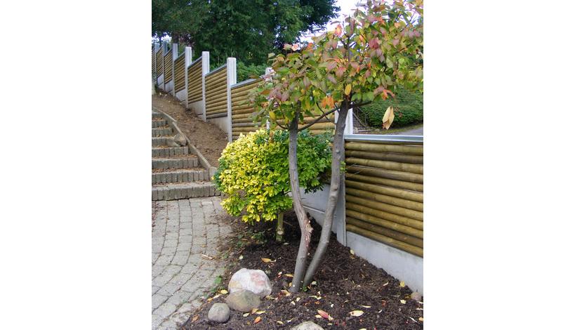 plankeværk i have