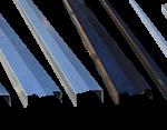 galvaniseret stålafdækning havehegn